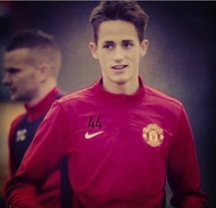 Adnan Januzaj - 44 Manchester United