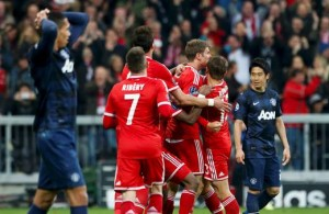 Bayern Munich Defeats Manchester United