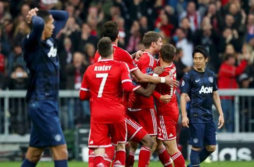 Bayern Munich Defeats Manchester United