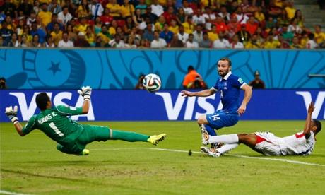 Costa Rica v Greece - FIFA World Cup Brazil 2014 - Second Round