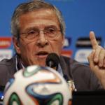 Oscar Tabarez Uruguay Head Coach