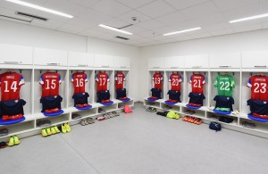 US Shirts lined up