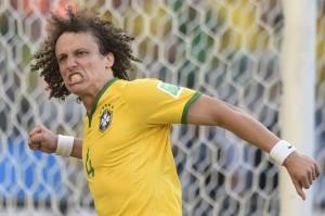 David Luiz goal celebration