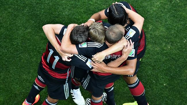 Germany Group Hug