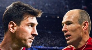 Robben vs Messi