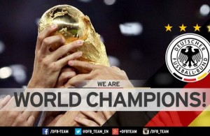 World Cup Trophy DFB