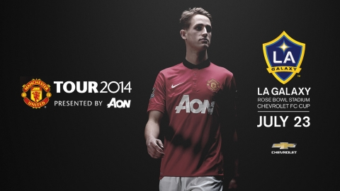 manchester united vs galaxy 2014 Pasadena