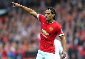 Falcao vs Leicester City
