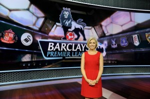 Rebecca Lowe for the EPL