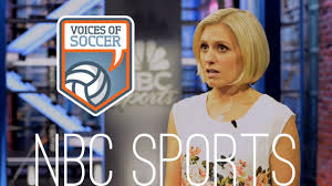 Rebecca Lowe voice of soccer