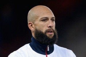 Tim Howard Bearded