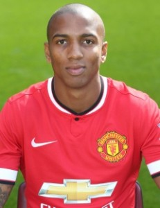 MUFC Midfielder Ashley Young