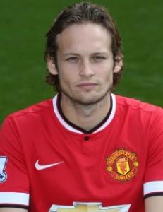 MUFC Midfielder Daley Blind