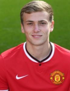 MUFC Striker James Wilson