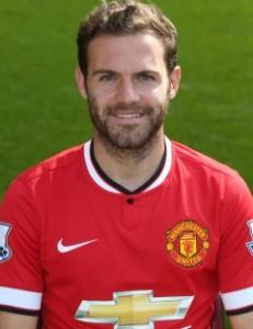 MUFC Midfielder Juan Mata