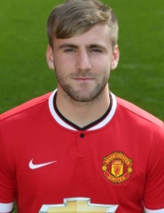 MUFC Defender Luke Shaw