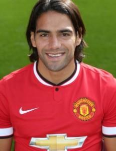 MUFC Striker Radamel Falcao
