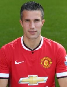 MUFC Striker Robin Van Persie