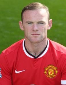 MUFC Striker Wayne Rooney