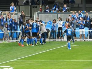 First Avaya Stadium Goal