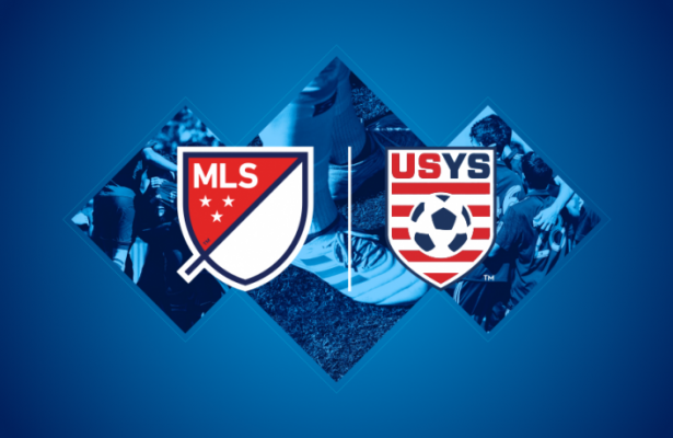 US Youth Soccer and MLS logos
